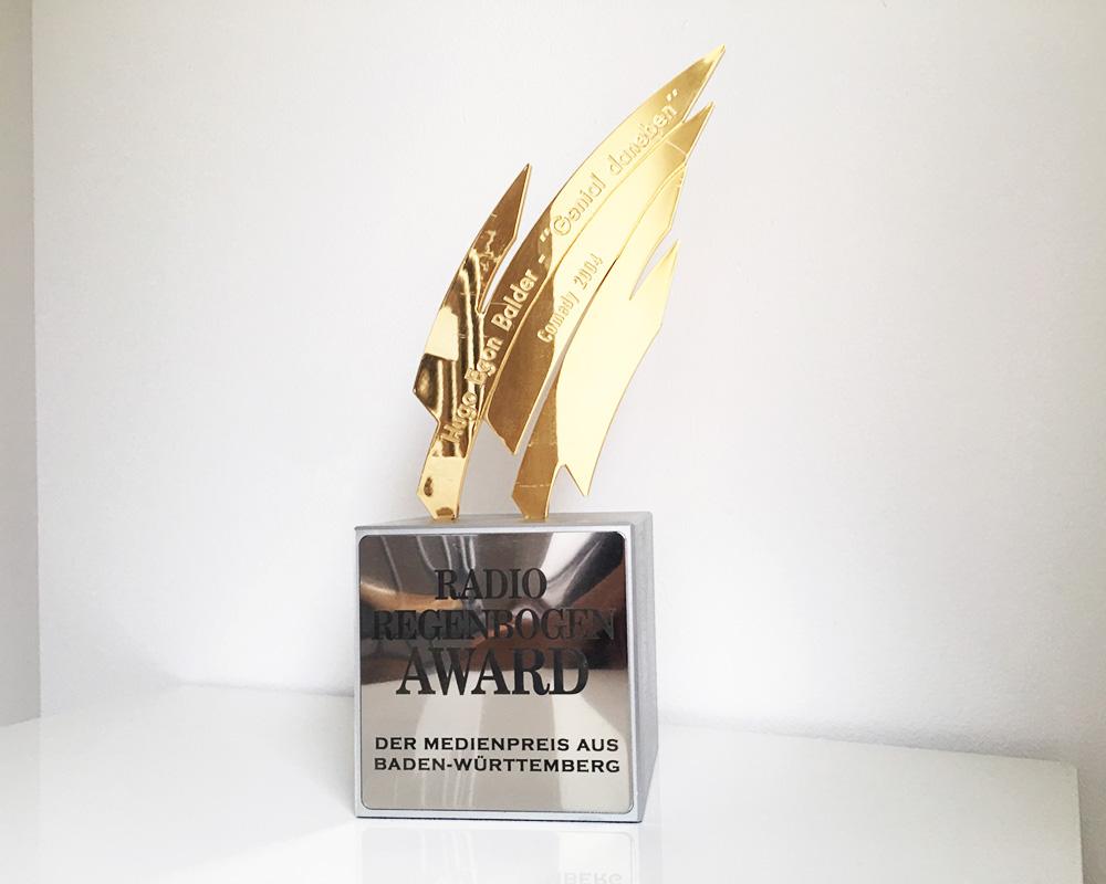 """Radio Regenbogen Award, Medienpreis für """"Genial daneben"""""""
